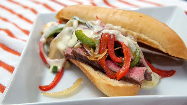 PHOTO: Sunday Cheesesteak Sandwich