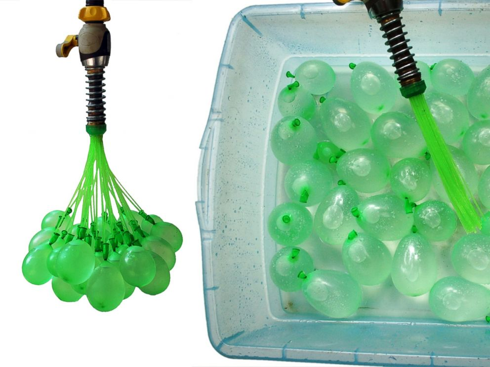 PHOTO: Josh Malone created Bunch o Balloons, a product that fills 100 water balloons in one minute.