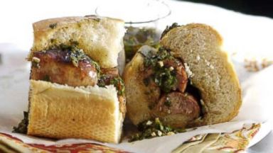 PHOTO: Choripan, a sandwich popular in many parts of South America, is seen in this undated photo.