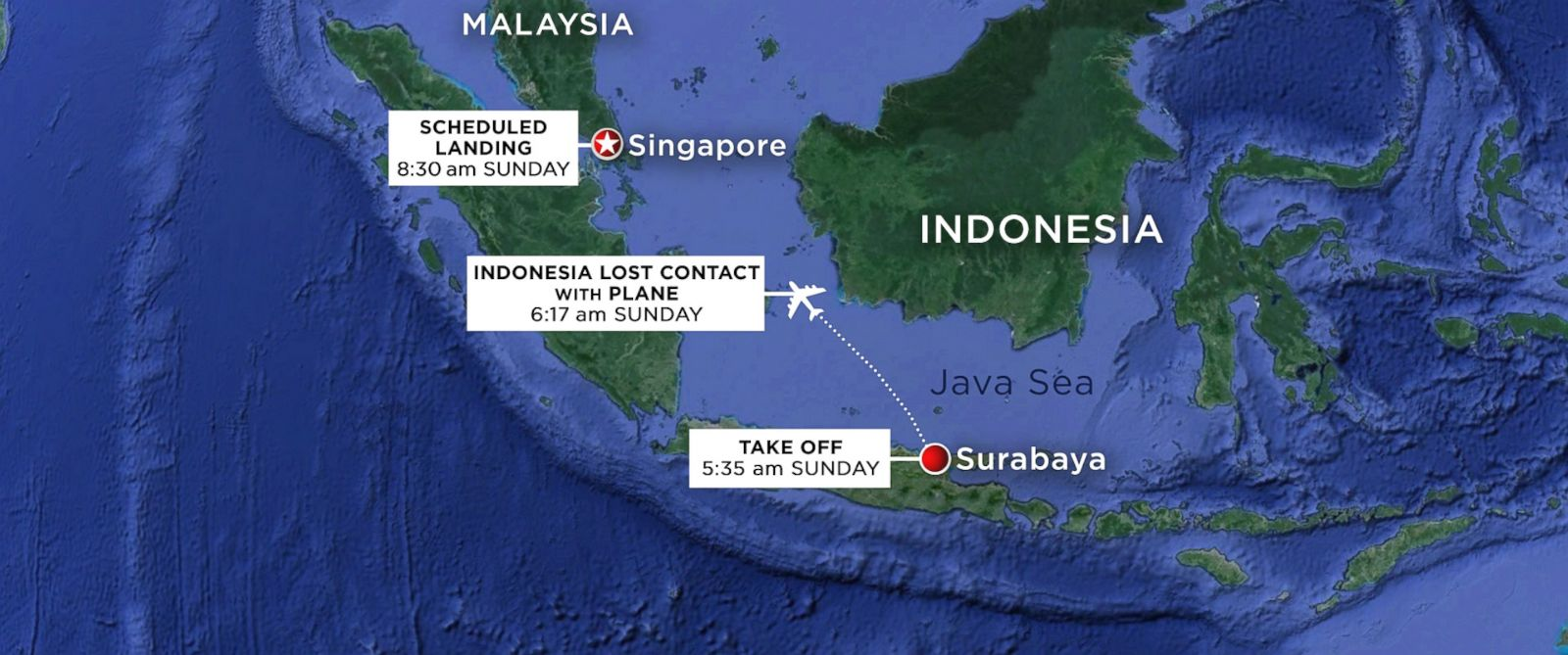 AirAsia Airbus A320-200 Map flight path with times 2