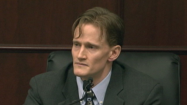 PHOTO: Jason Young, who is accused of killing his pregnant wife, Michelle, has pleaded not guilty to the crime.