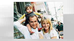 PHOTO: Mark Madoff, with his wife and child, from a Facebook photo
