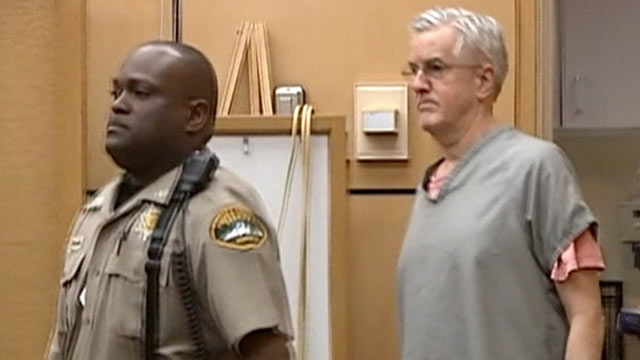 PHOTO: Steven Powell is escorted into the court room on April 24, 2012.