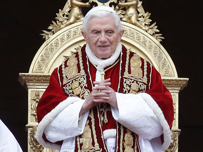 Vatican Says Pope Benedict Will Resign on Feb. 28