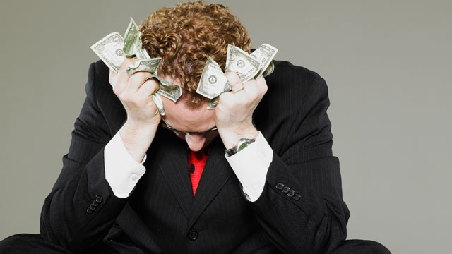 PHOTO: Financial problems are the number one, top-of-the-pack stress inducer for Americans today.