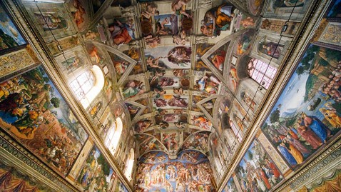 gty sistine chapel ceiling jef 111101 wblog Nov. 1: All Saints Day; Day of the Innocents; Sistine Chapels Public Debut