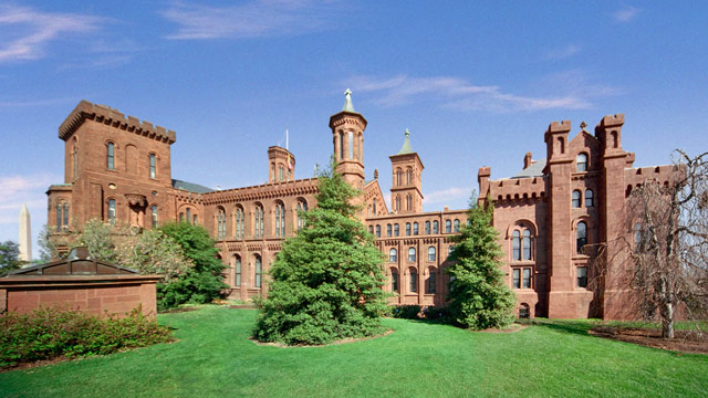 PHOTO: The Smithsonian Institution building is shown in Washington D.C.