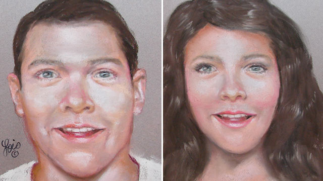 "PHOTO: The Harris County Sheriffs Office has released these composite sketches of what the parents of an abandoned newborn may look like. ""Baby Chloe"" was discovered, Feb. 19, 2013, in Houston, Tex."