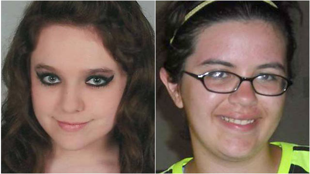 PHOTO: Lamar County deputies said Amber Henry of High Falls and Kirsten Kamradt of Barnesville, left their homes early Wednesday and met two teenage boys, and have been missing ever since.