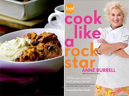 PHOTO:??Anne Burrells cookbook Cook Like a Rock Star.