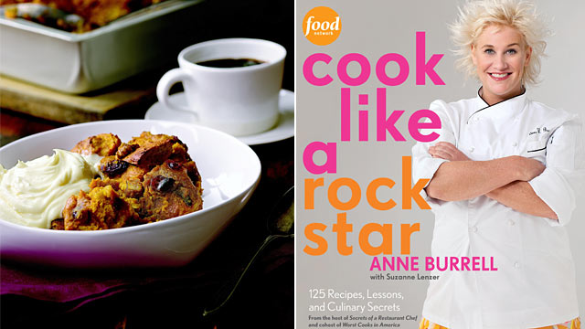 "PHOTO: Anne Burrell's cookbook ""Cook Like a Rock Star."""