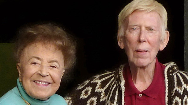 PHOTO: Madeleine and Arthur Morris