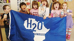 PHOTO: H20 for Life connects schools across America with schools in other countries that dont have clean bathrooms, sinks, or even running water. Incredibly, thats half of all the schools in the developing world.