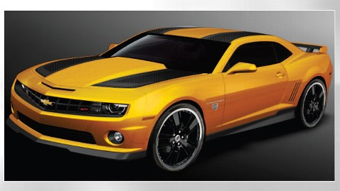 the special edition transformers 2012 chevrolet camaro coupe model is based on the film series bumblebee character general motors