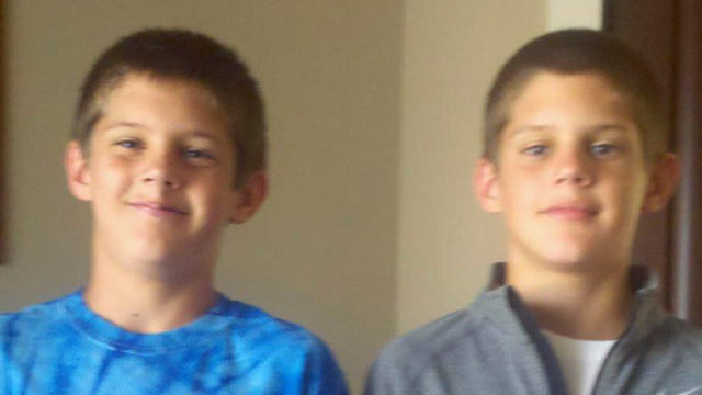 PHOTO: Twins Nate and Nick Smith