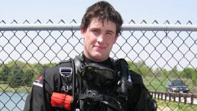 PHOTO:Russell Vanhorn, a 23 year old Iraqi Veteran, was killed after a scuba tank explosion in St. Petersburg, FL, is seen in this undated file photo.