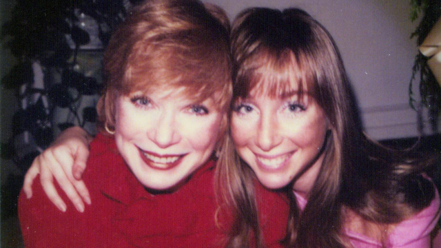 PHOTO: Shirley MacLaine, left, with her daughter, Sachi Parker.