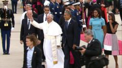 Pope Francis Kicks Off Historic US Trip