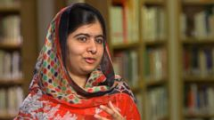 VIDEO: Nobel Peace Prize Winner Malala on He Named Me Malala