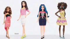 Barbie Introduces New Dolls That Are Tall, Petite, Curvy