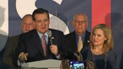 VIDEO: Iowa Caucuses 2016: Ted Cruz Beats Donald Trump