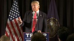 Donald Trump Fights Backs in New Hampshire