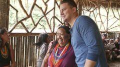 02/11/16: Channing Tatum Reveals His Energy Secret Is an Amazonian Leaf Tea