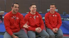 Inside the U.S. Olympic Mens Gymnastics Team Training Session