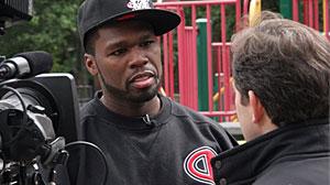 """Photo: Rapper Curtis """"50 Cent"""" Jackson"""