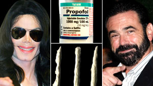Families of Michael Jackson, Billy Mays and Diane Schuler Deny Their Addiction -- Even in Death