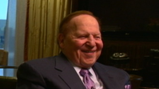 Gambling Giant Sheldon Adelson