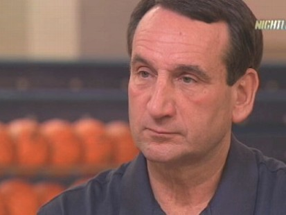 VIDEO: Duke basketballs Mike Krzyzewski insists the NBA is not in his future.