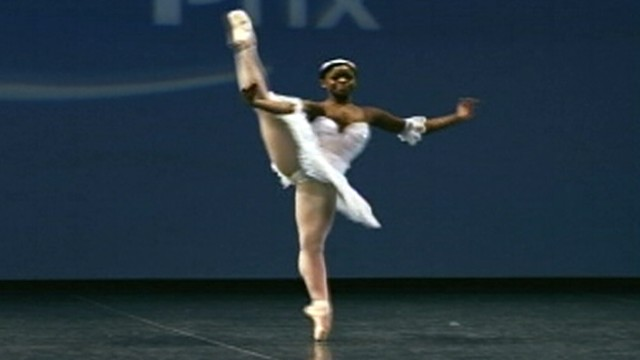 African Orphan Turned Elite Ballerina