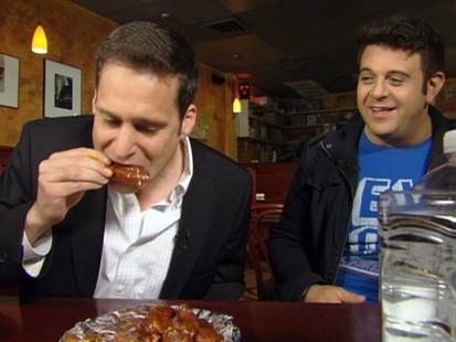 VIDEO: John Berman Takes on Spicy Wings