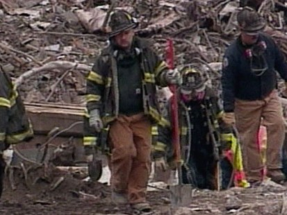 VIDEO: 2.1.2002: The World Trade Center is reduced to a million tons of rubble.