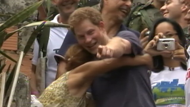 Prince Harry Brings Life to Royal Tour