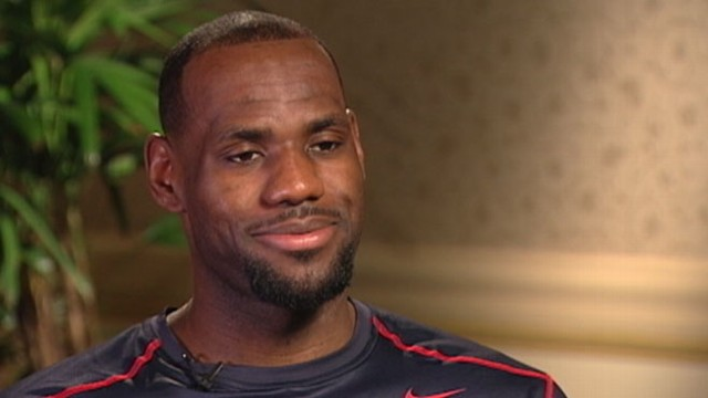 VIDEO: Basketball star says he stands by his U.S. Olympic teammate but supports the Dream Team.