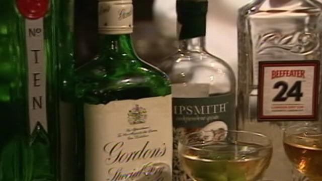 Gin Martini Making a Comeback