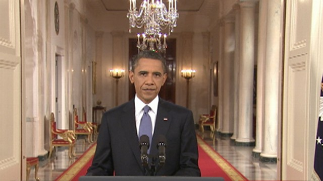 President Obama Talks Troop Drawdown