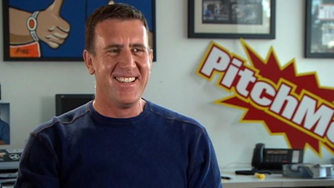 "VIDEO: The infomercial king shows ABCs Matt Gutman how to pitch ""Nightline."""