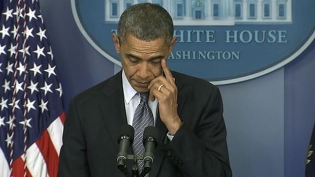 President Obama on School Massacre: Our Hearts Are Broken