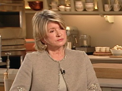 VIDEO: Martha Stewart defends how she collects gravel from her mile-long driveway.