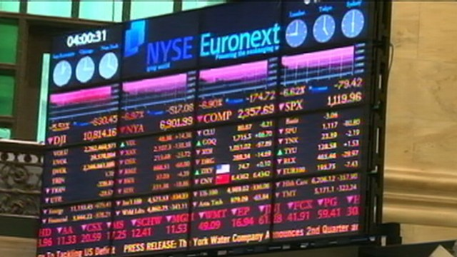 Dow Plunges, Blame Game Heats Up