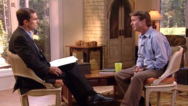Aug. 2008: John Edwards admits his affair with Rielle Hunter was a mistake.