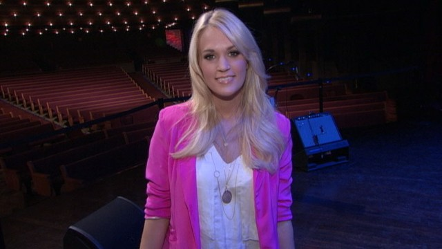 VIDEO: Country star explains the top five things she has to have with her on tour.