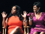 PHOTO Sherri Shepherd, left, and Jacque Reid talk about being successful, black and single at the seventh ?Nightline: Face-Off.?