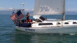 PHOTO: Zac Sunderland, youngest person to sail around the world alone.