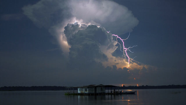 PHOTO: A mysterious symphony of rapid fire lightning bolts used to create the greatest light show on Earth over the Catatumbo River in Venezuela, until suddenly they stopped and no one knew why.
