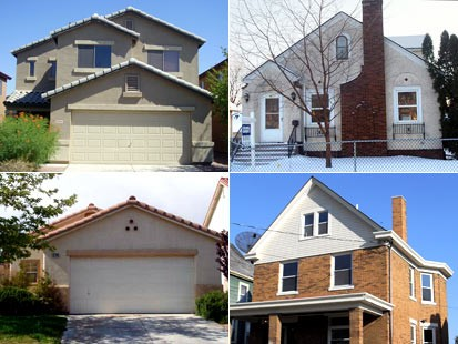 Photo: Homes for sale for approximately $100,000.