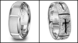 Photo: If You Like Him, Its Now OK to Put a Ring on Him: Man-gagement Rings Are Popular With Some Fresh Couples -- but Not Everyones Buying It